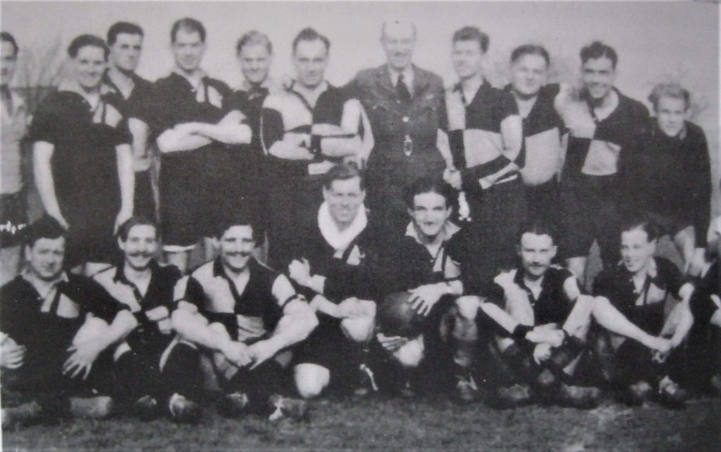 Sanders is 4th from left back row