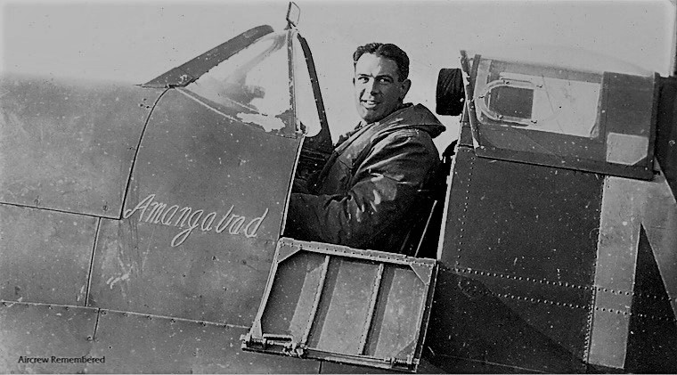 64 squadron Spitfire MK IIA P7784 flown by Pilot Officer John Rowden, was tragically killed on the 9th April 1941.