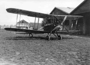A BE2c aircraft of 39 Home Defence squadron.
