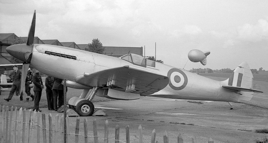 Plane at Hornchurch's air show on the 3rd September 1960