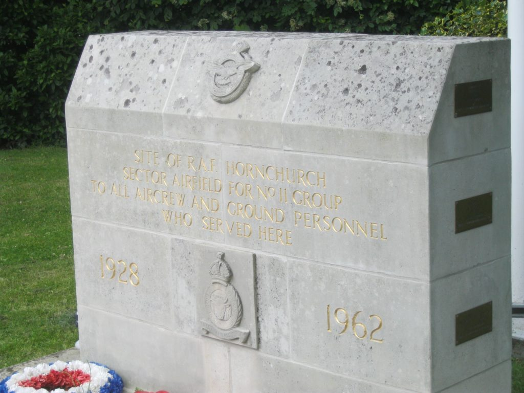 RAF Hornchurch Memorial New Position