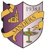 Sanders Draper school badge (old)