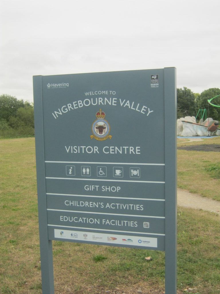 Country Park Visitor Sign